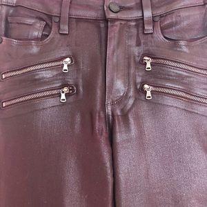 PAIGE Jeans - Paige Edgemont Coated jeans